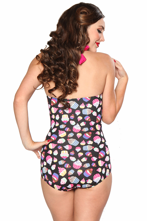 53d3bb5075f Girlhowdy 1-Piece Sugar Frock Vintage-Inspired Cupcake Swimsuit ...